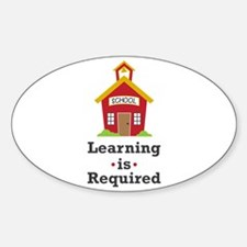 Learning Is Required Decal