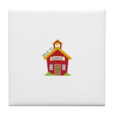 Back To School Tile Coaster