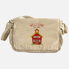 Welcome To School Messenger Bag