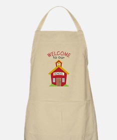 Welcome To School Apron