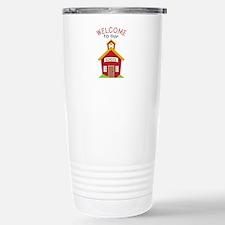 Welcome To School Travel Mug