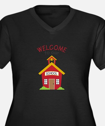 Welcome To School Plus Size T-Shirt