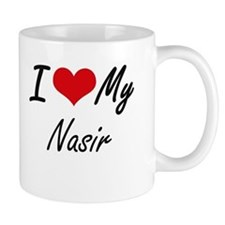 I Love My Nasir Mugs
