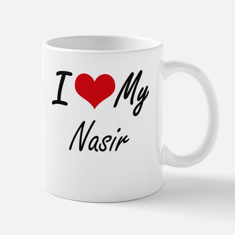 I Love My Nasir Mugs