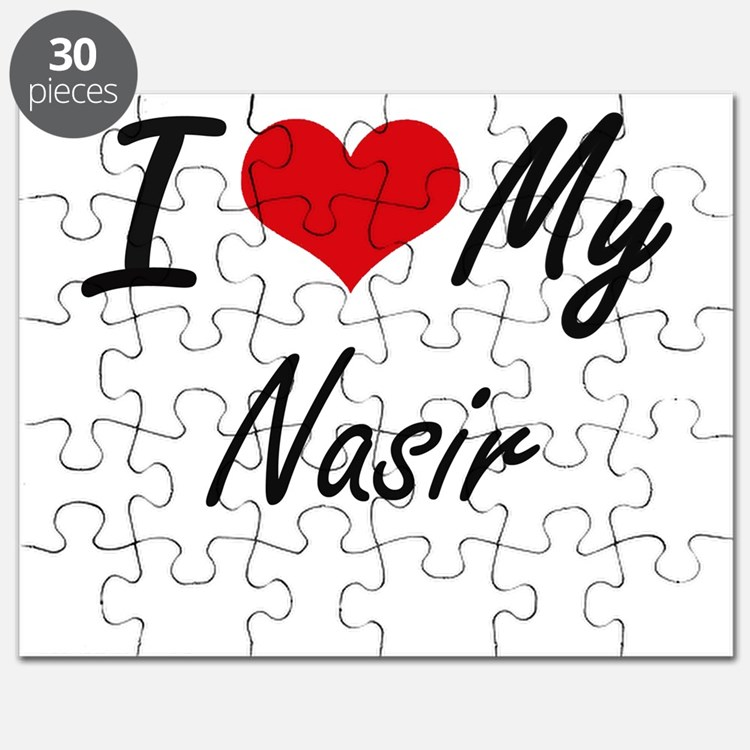 I Love My Nasir Puzzle