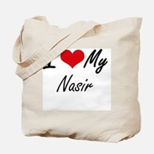 I Love My Nasir Tote Bag
