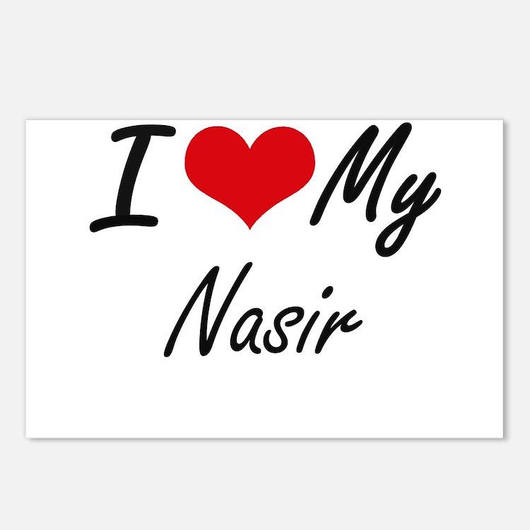 I Love My Nasir Postcards (Package of 8)
