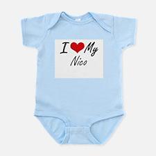 I Love My Nico Body Suit