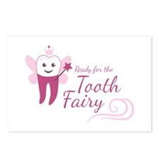Ready For Tooth Fairy Postcards (Package of 8)