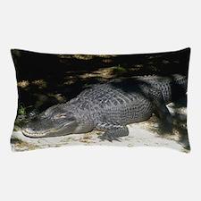 Alligator Sunbathing Pillow Case