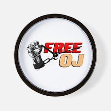 Free OJ Wall Clock