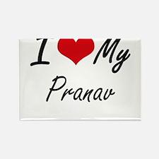 I Love My Pranav Magnets
