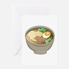 Ramen Bowl Greeting Cards