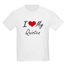 I Love My Quinten T-Shirt