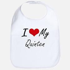 I Love My Quinten Bib