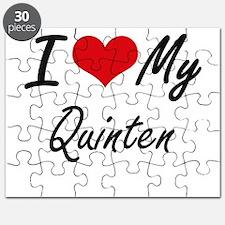 I Love My Quinten Puzzle