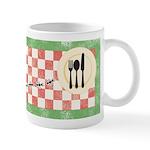 Ants and Picnic Art Ceramic Coffee Mug