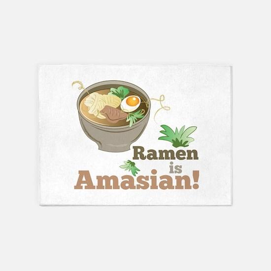 Ramen Is Amasian 5'x7'Area Rug