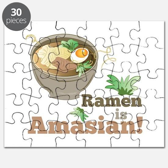 Ramen Is Amasian Puzzle