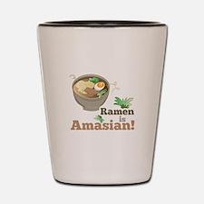Ramen Is Amasian Shot Glass