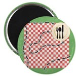 "Ants and Picnic Art 2.25"" Magnet (100 pack)"