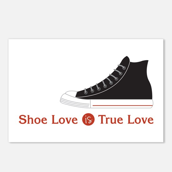Shoe Love Postcards (Package of 8)