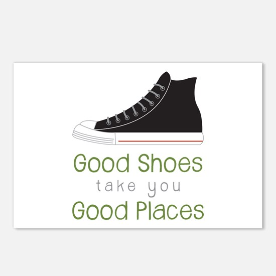 Good Shoes Postcards (Package of 8)