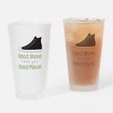 Good Shoes Drinking Glass