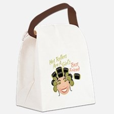 Hot Rollers Canvas Lunch Bag