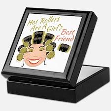 Hot Rollers Keepsake Box