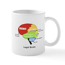 Legal Brain Mug