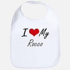 I Love My Rocco Bib