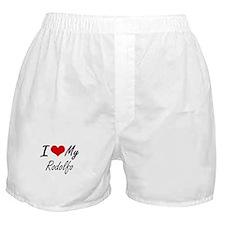 I Love My Rodolfo Boxer Shorts