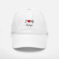 I Love My Rodrigo Baseball Baseball Cap