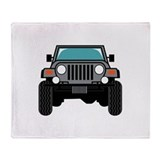 Jeeps Fleece Blankets