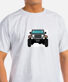 Jeep Front T-Shirt