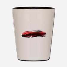 Ferrari sketch Shot Glass