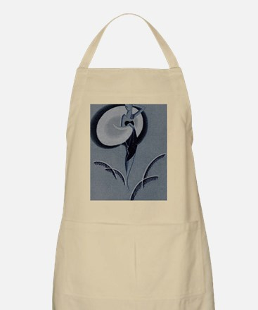 Art Deco Lady Apron