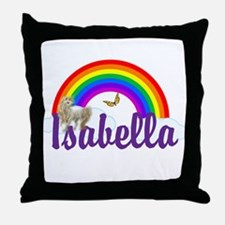 Unicorn Personalize Throw Pillow