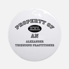 Property of an Alexander Technique Practitioner Or