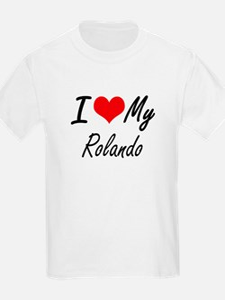 I Love My Rolando T-Shirt