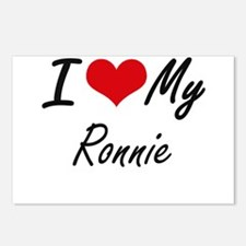 I Love My Ronnie Postcards (Package of 8)