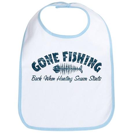 Gone Fishing Bib