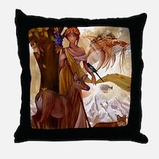 Muse Wildlife Fantasy Throw Pillow