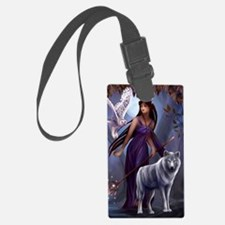 Muse and Wildlife Luggage Tag