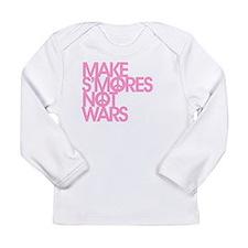 Unique Smores Long Sleeve Infant T-Shirt