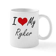 I Love My Ryker Mugs