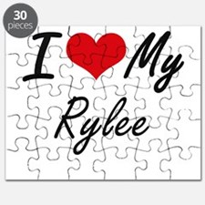 I Love My Rylee Puzzle
