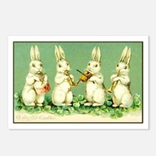 Vintage Musical Easter Postcards (package Of 8)