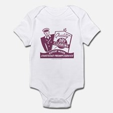 Dry Cleaning Infant Bodysuit